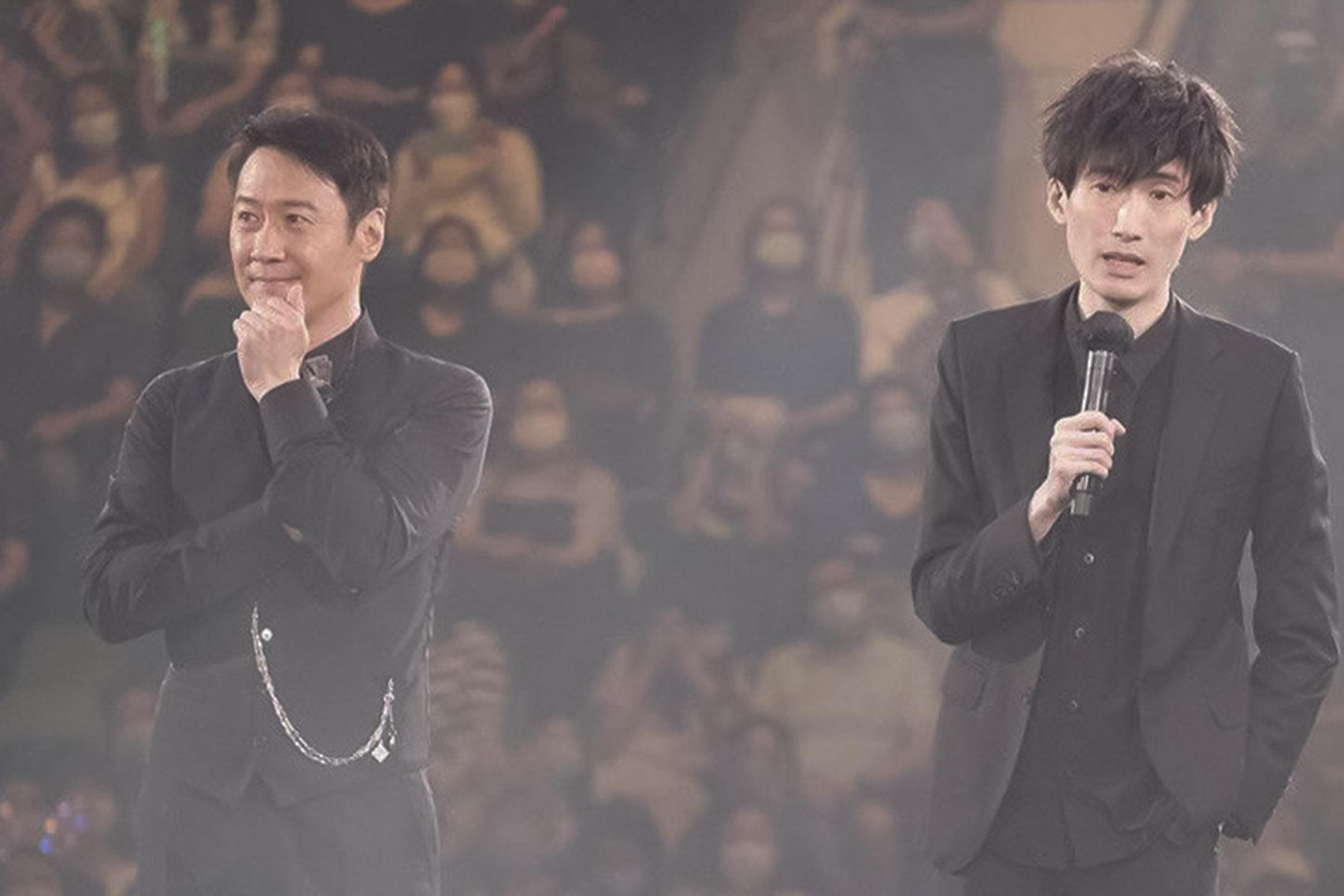 香港歌手黎明的個人演唱會上,他邀請了100毛創辦人林日曦作爲嘉賓。