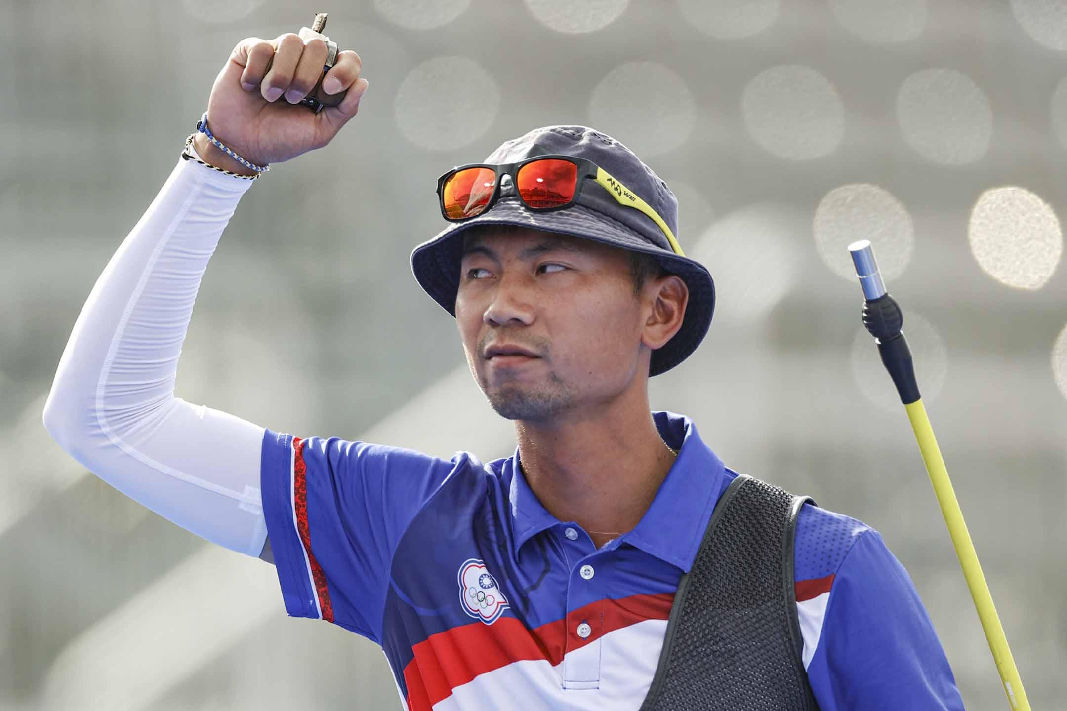 2021年7月26日日本東京,台灣隊的魏均珩。