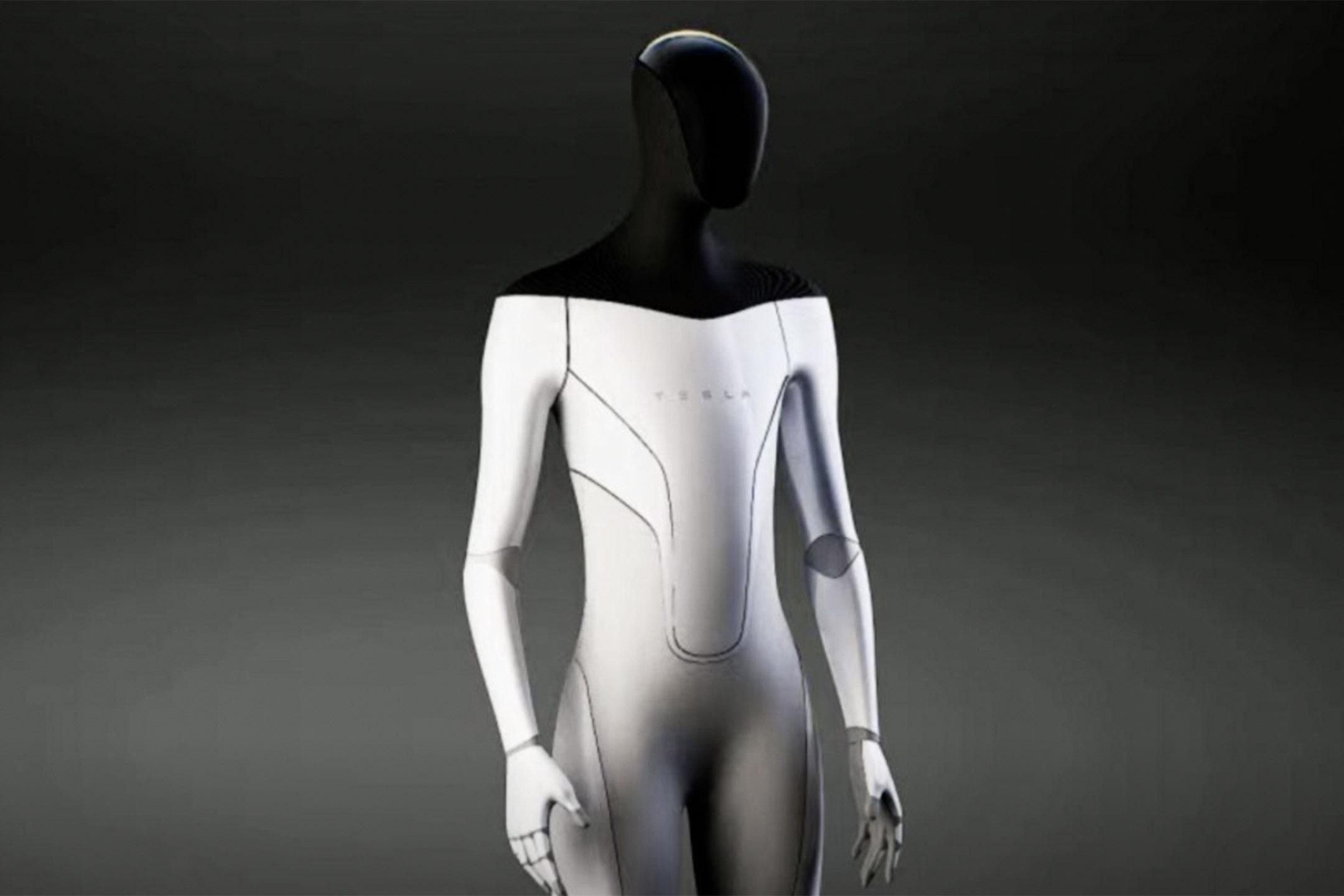 特斯拉計畫推出「Tesla Bot」的日常工作機器人。 圖:Tesla Website