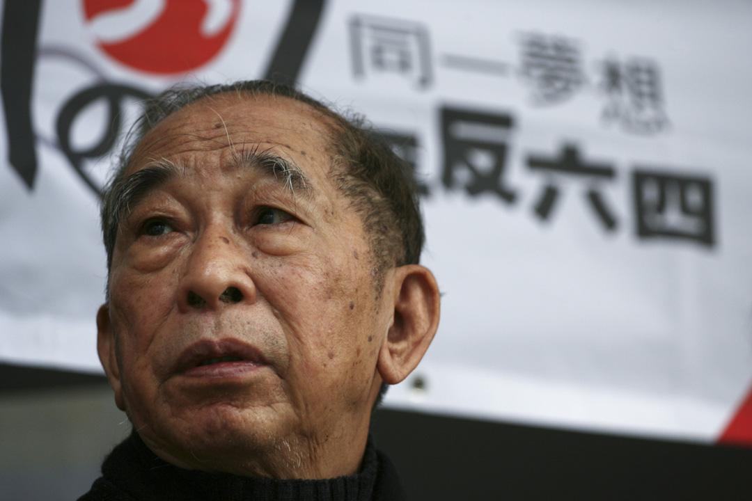 2008年,支聯會主席司徒華。