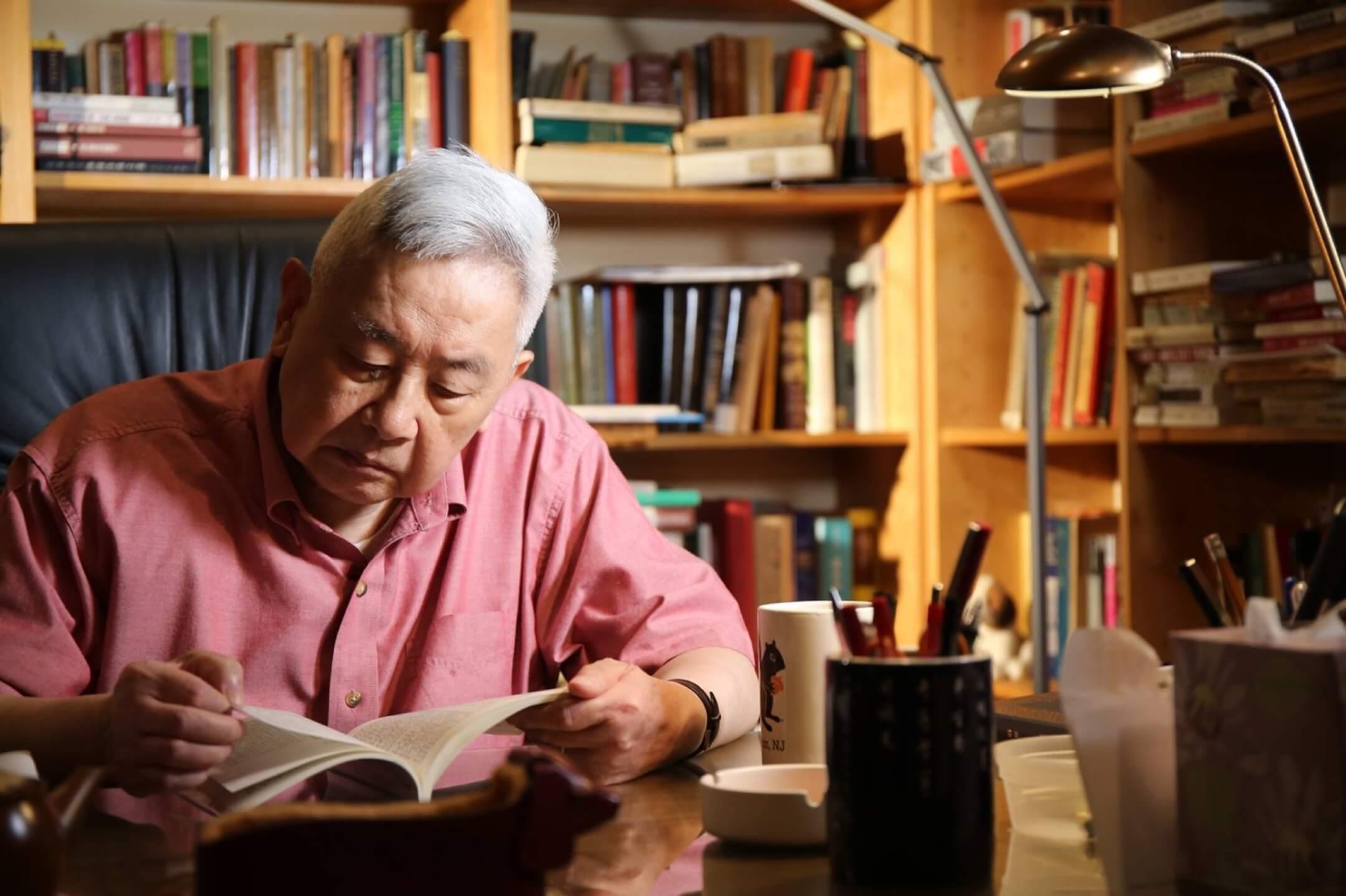 著名歷史學家余英時於8月1日在美國逝世,享年91歲。 圖:《唐獎》網頁