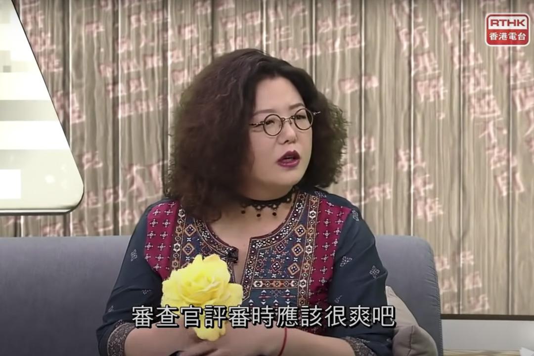 《五夜講場-文學放得開》主持鄧小樺。