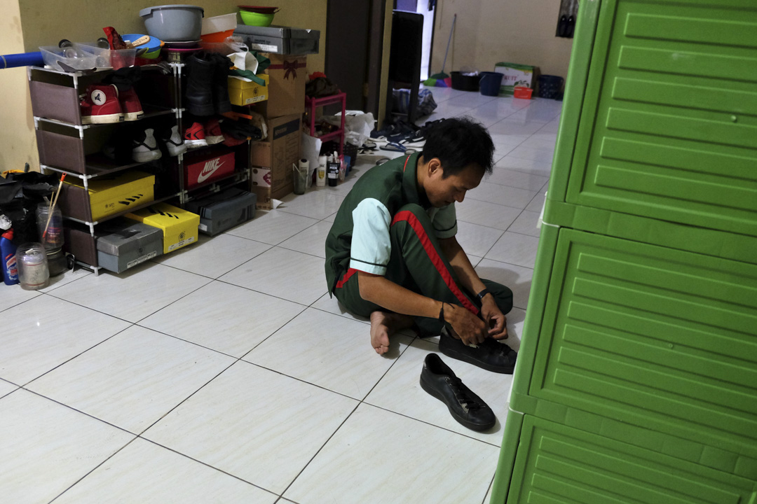 「隆興629」漁工Rizky Fauzan Alvian。
