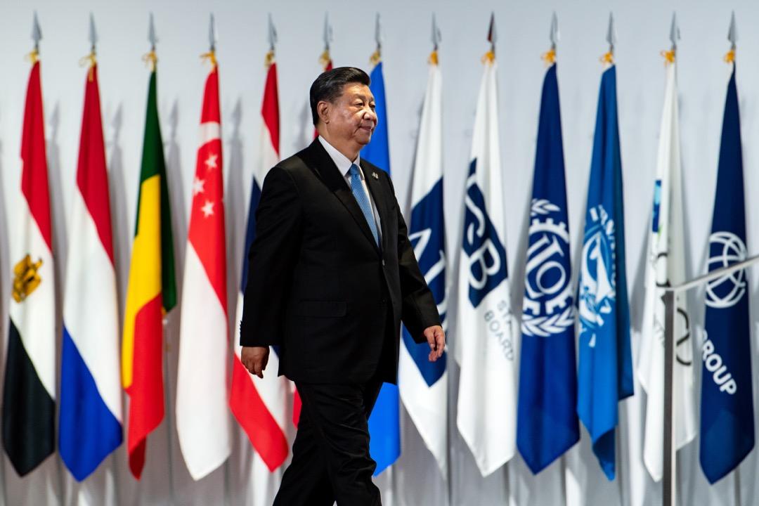 2019年6月28日,中國國家主席習近平出席在日本大阪舉行的G20峰會。