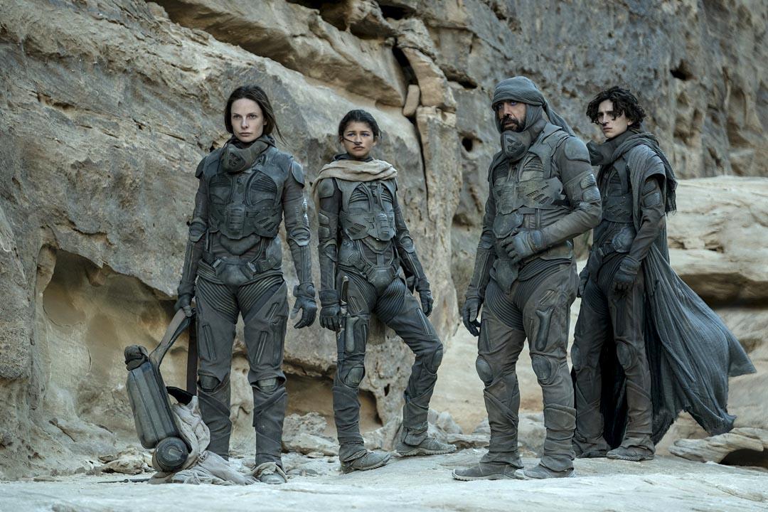 《沙丘瀚戰》(Dune)劇照。