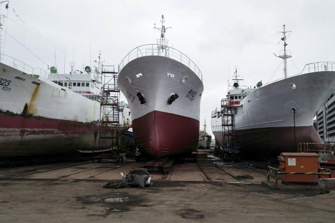 2020年9月,三艘大連海洋漁業的漁船被扣留在塞內加爾的首都達喀爾的一個港口。