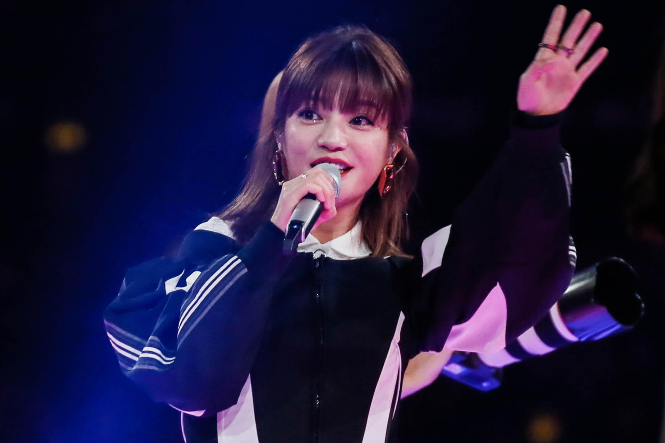 2019年11月10日中國長沙,女演員趙薇在晚會期間在舞台上表演。 圖:VCG/VCG via Getty Images