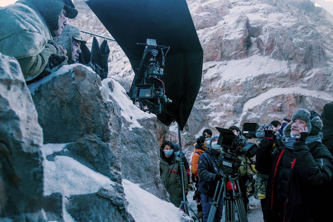 香港導演徐克執導《長津湖》。
