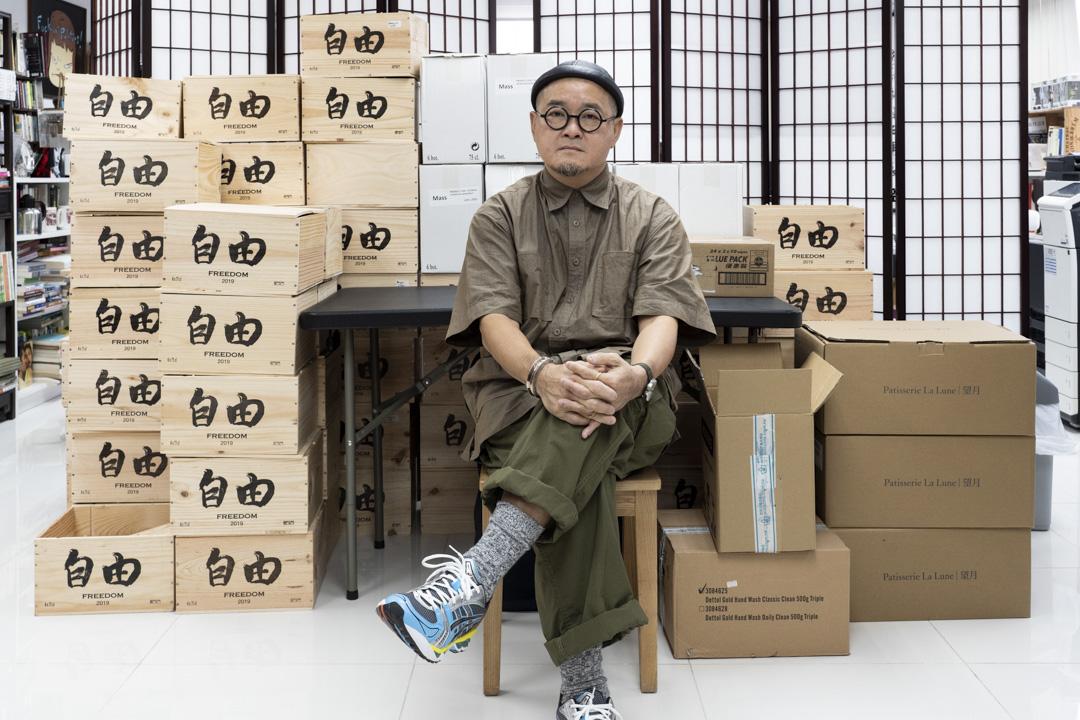 關注囚權的組織「石牆花」發起人邵家臻。 攝:林振東/端傳媒