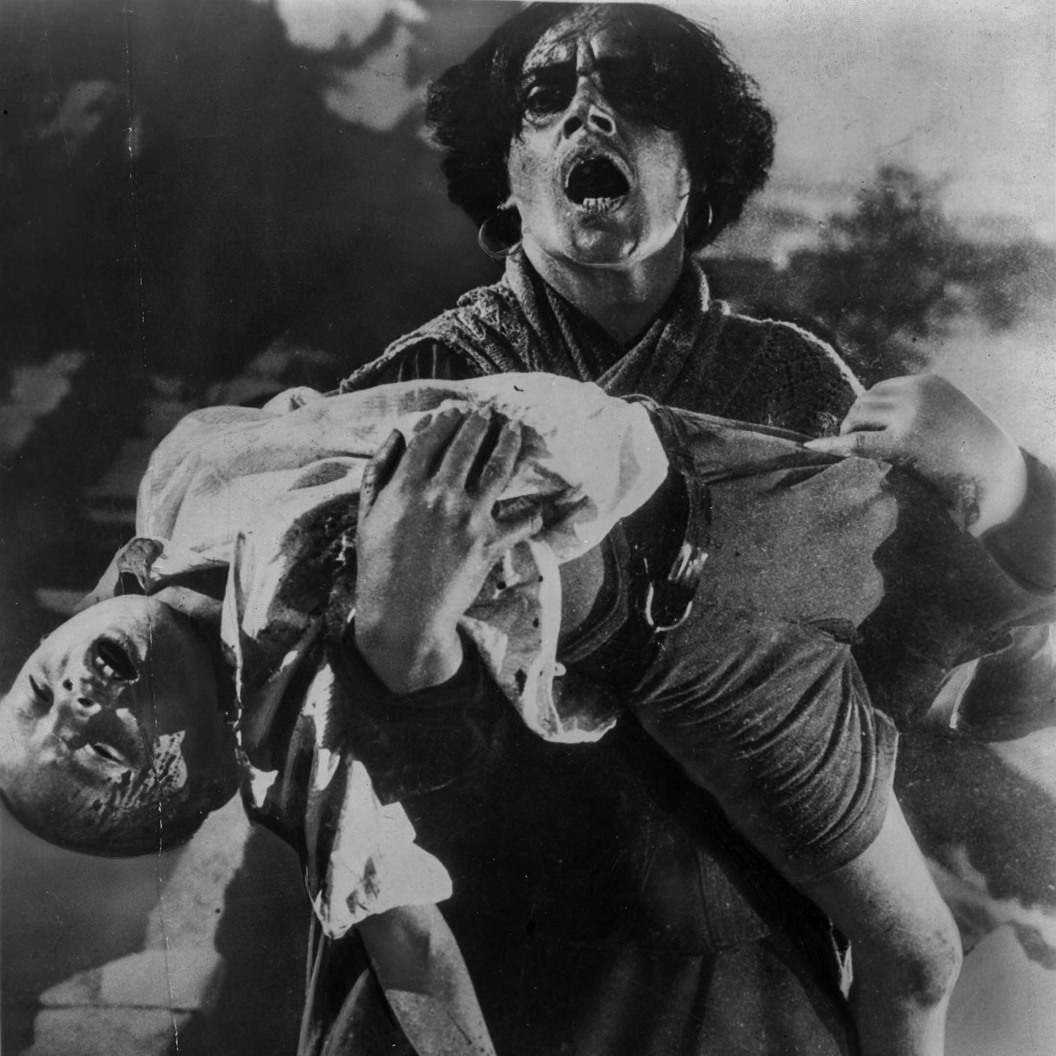 導演愛森斯坦的電影《戰艦波將金號》。