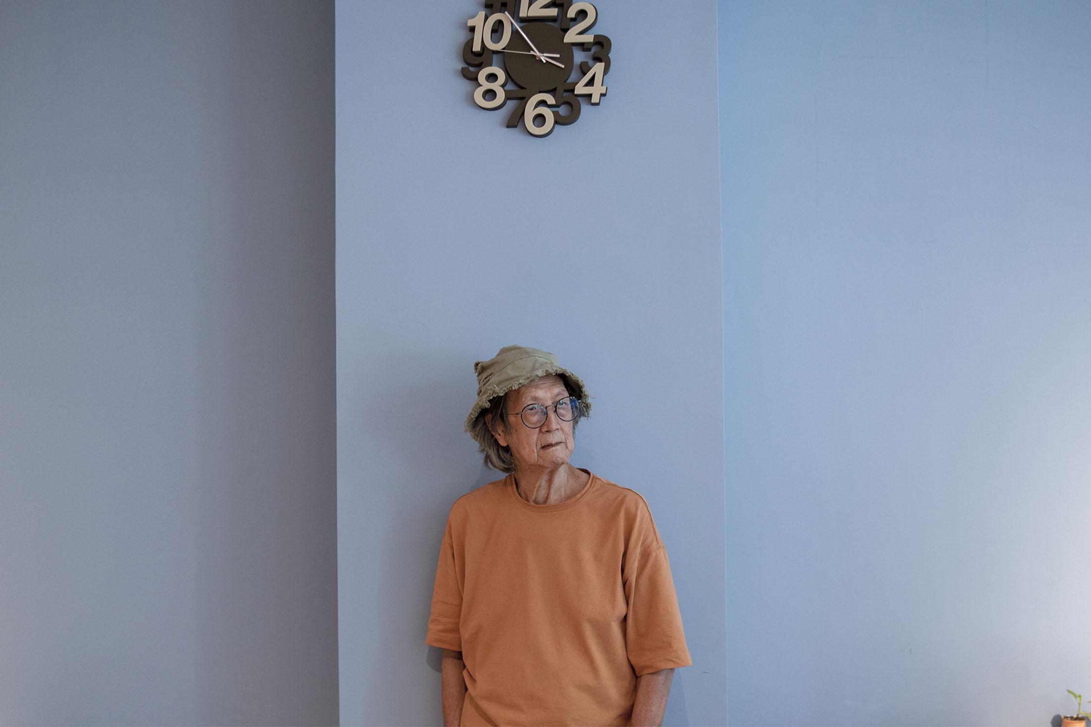 香港作家崑南。