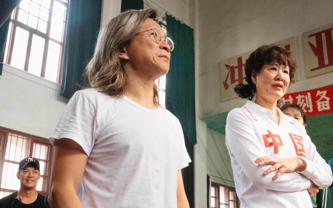香港導演陳可辛執導《奪冠》。