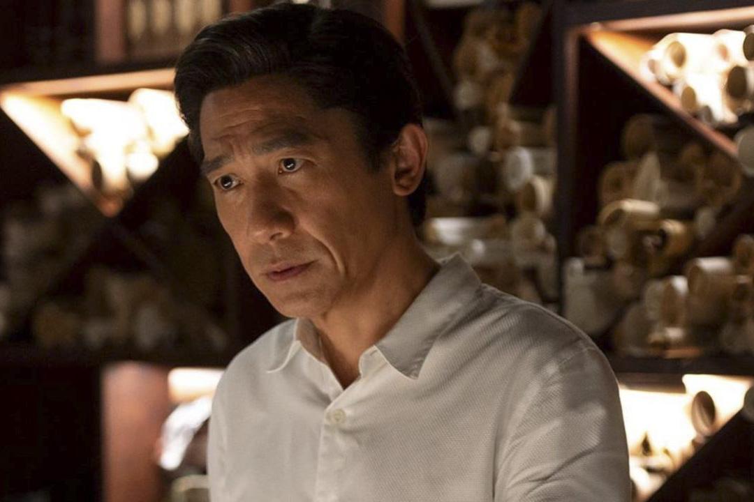 梁朝偉在《Shang-Chi and the Legend of the Ten Rings 尚氣與十環傳奇》。