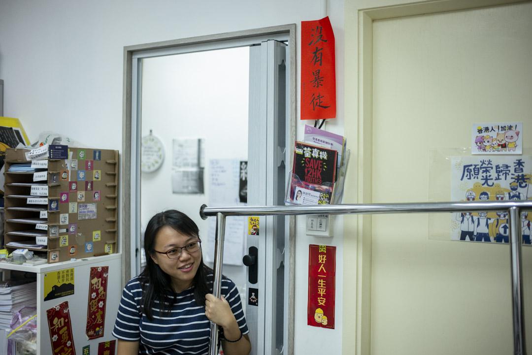 前區議員陳劍琴。