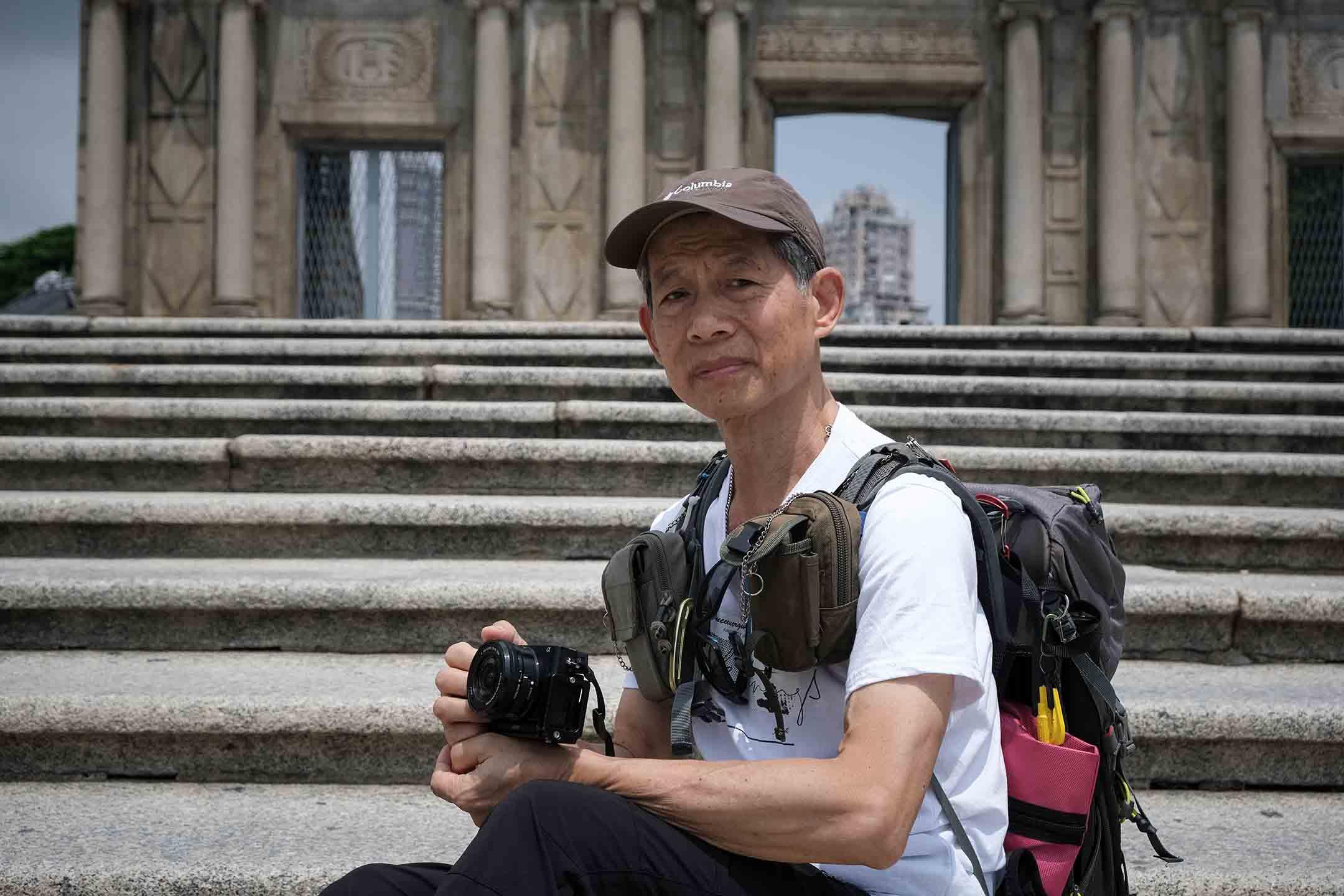 澳門資深攝影記者陳永漢。