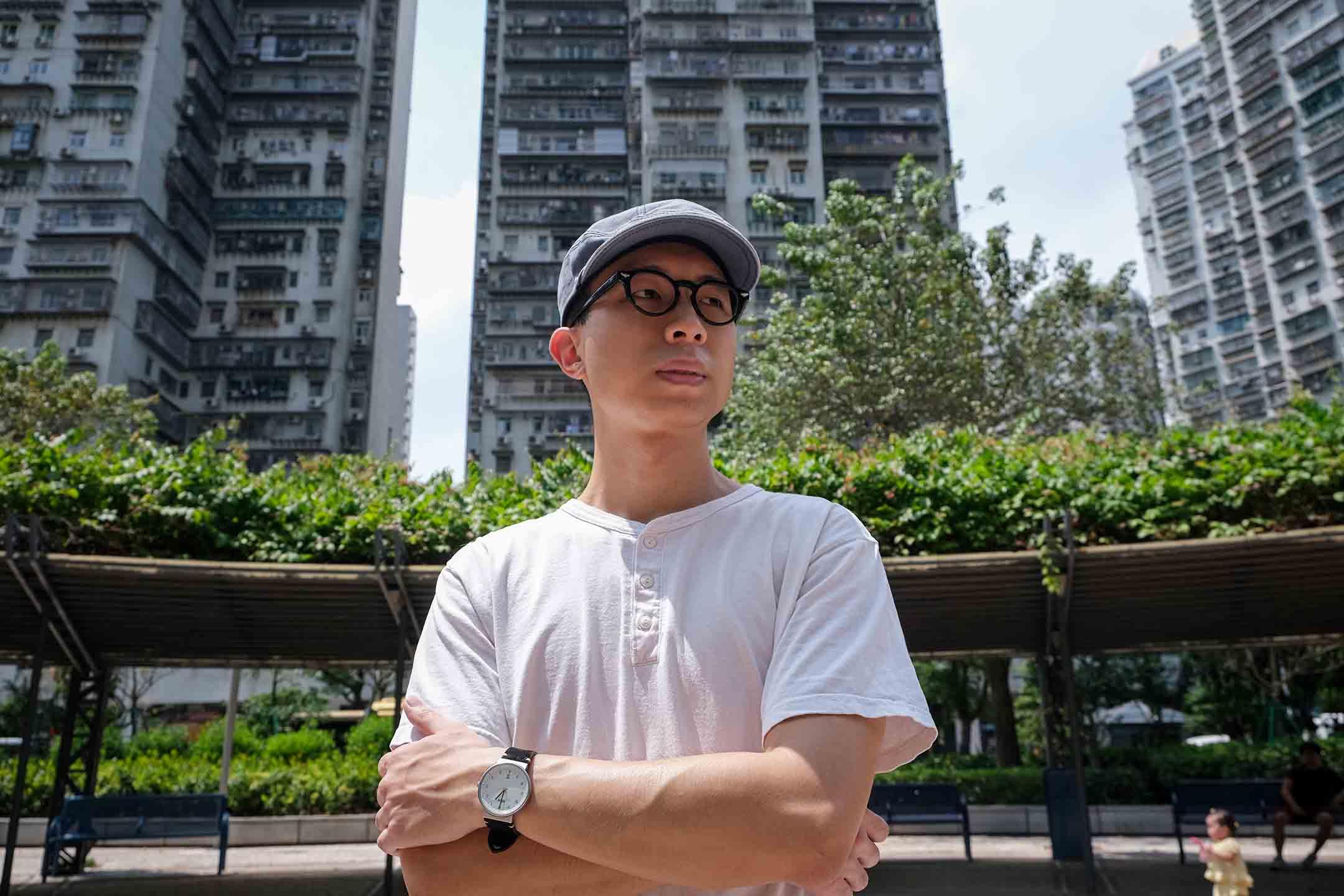 原「學社前進」名單第四候選人李珈瑾。