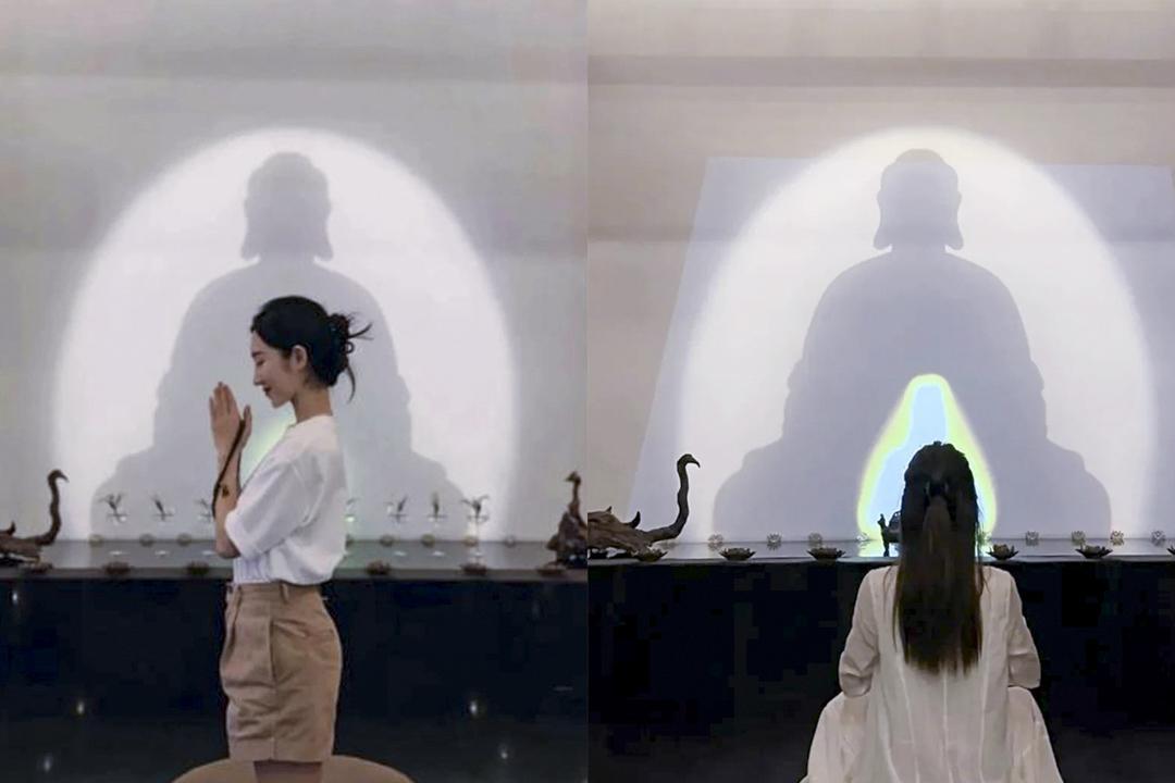 「佛媛」是結合了「禮佛」與「名媛」,網紅會穿著名牌前往寺廟或是佛堂參拜,以抄寫心經、泡茶、吃素等來展現自己「不同於世俗」的形象。