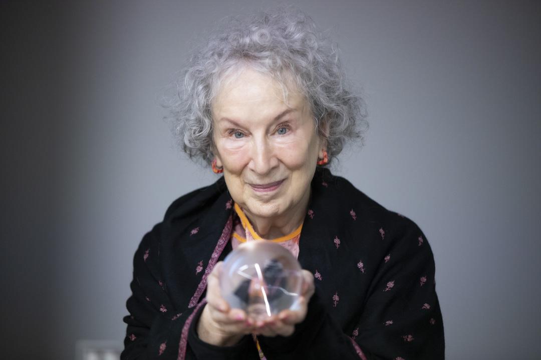 加拿大作家瑪格麗特.愛特伍(Margaret Atwood)。
