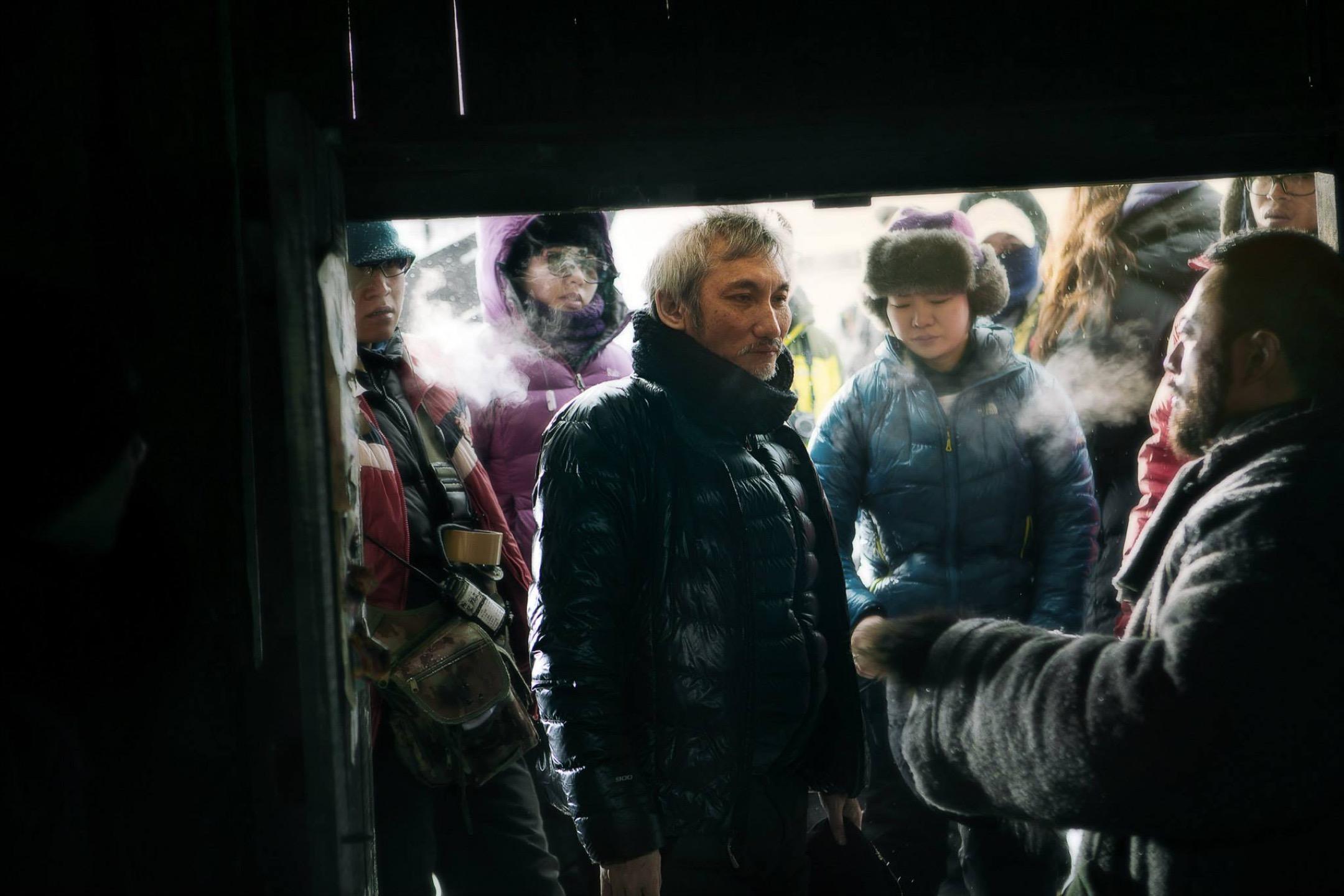 香港導演徐克執導《智取威虎山》。 網上圖片