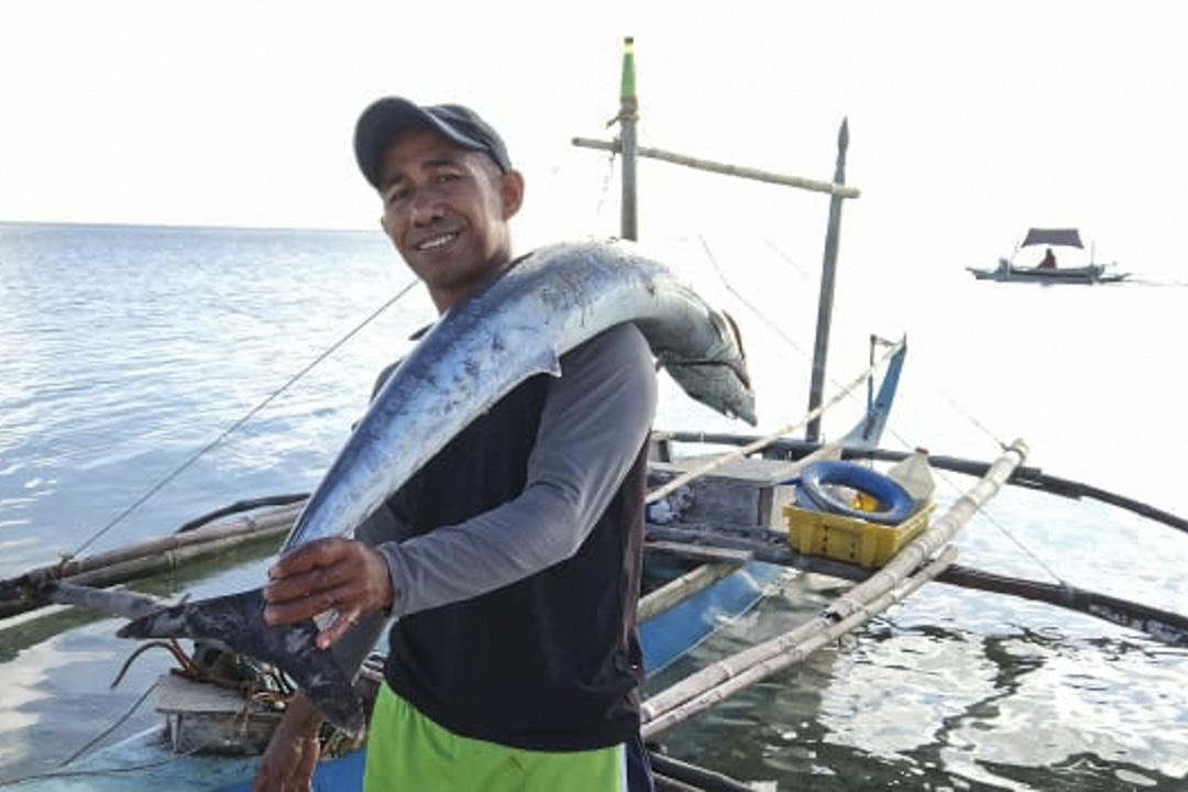 菲律賓漁夫雨果(Larry Hugo)。