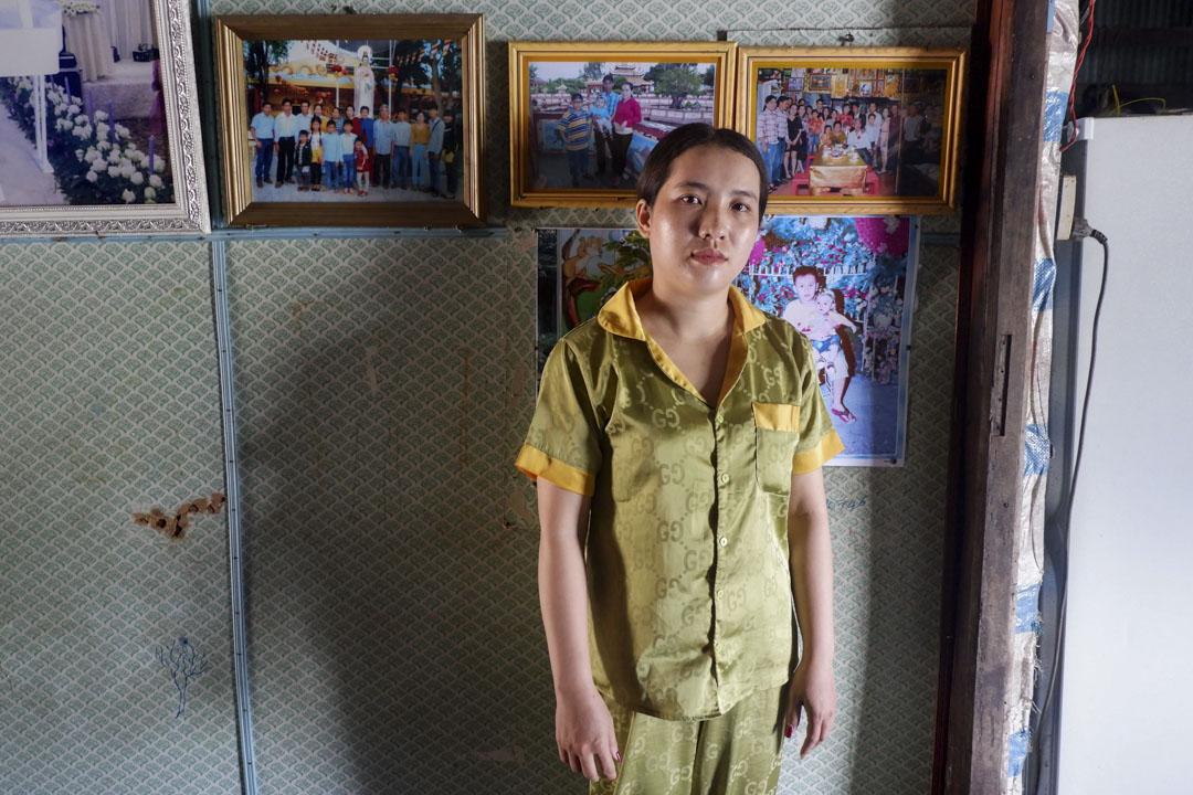 丁氏恆的丈夫阮玉輝在丹戎檳榔監獄服刑。