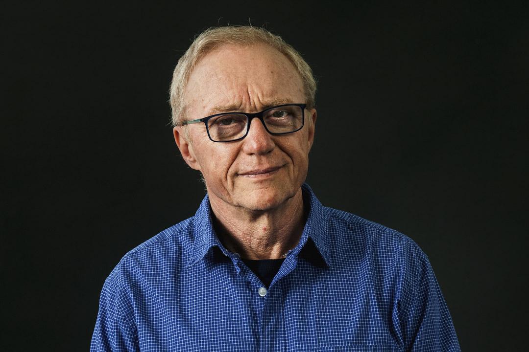 以色列作家大衛.格羅斯曼(David Grossman)。