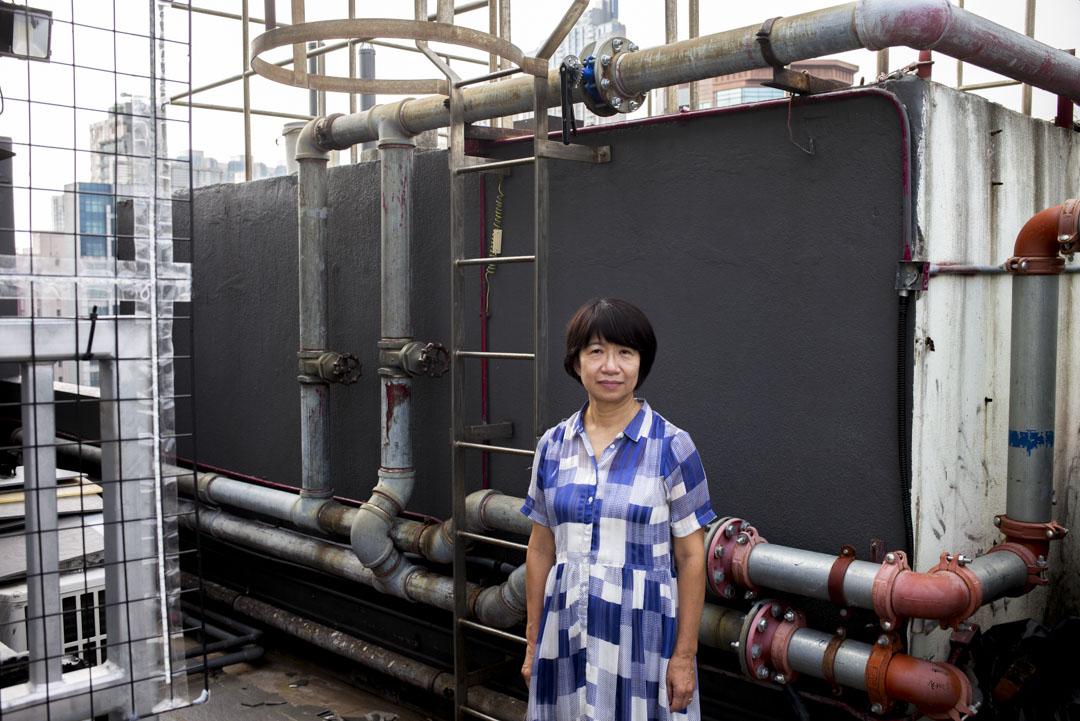 職工盟前總幹事鄧燕娥。