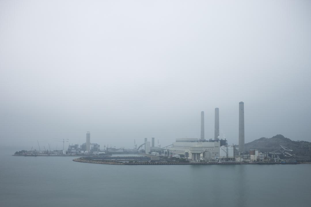 南丫島發電廠。
