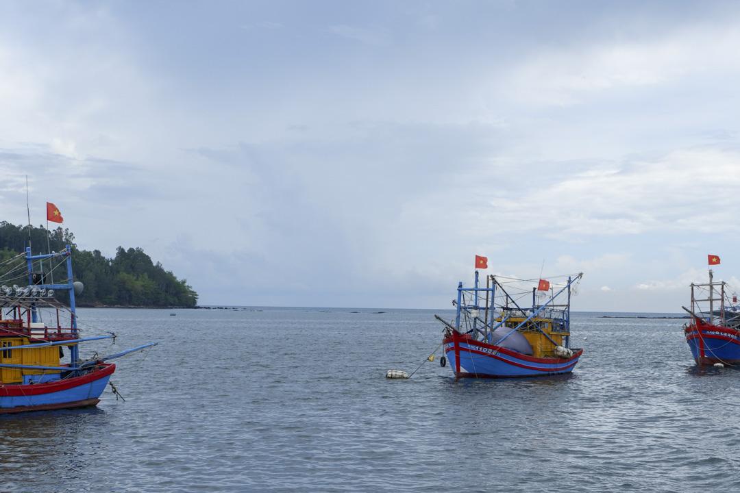 越南中部廣義省(Quang Ngai)的Sa Ky海港,是當地船隻前往南中國海的必經之路。