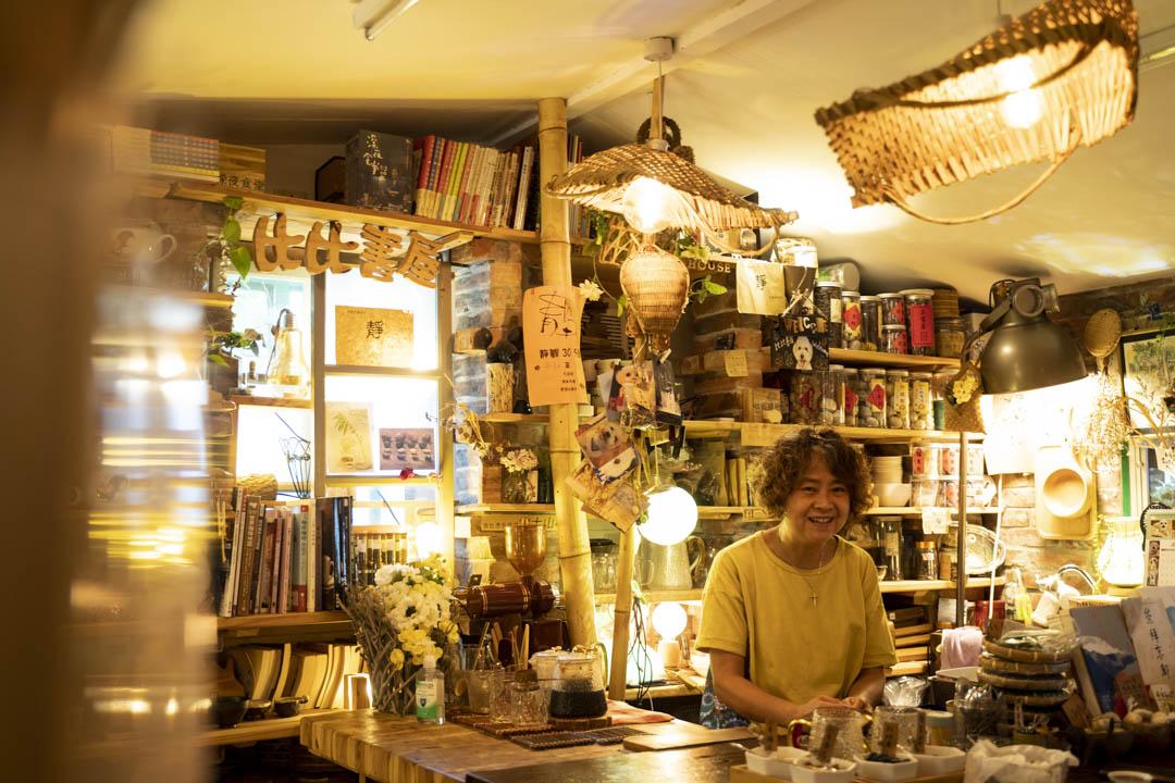 比比書屋店主Teresa。