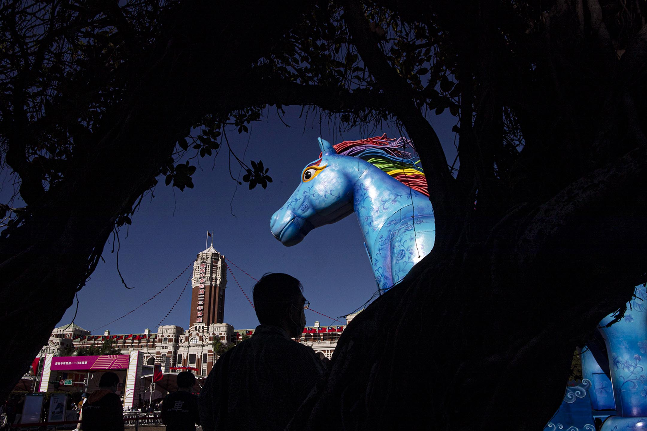 2021年10月10日台北,蔡英文總統於雙十節國慶大會。