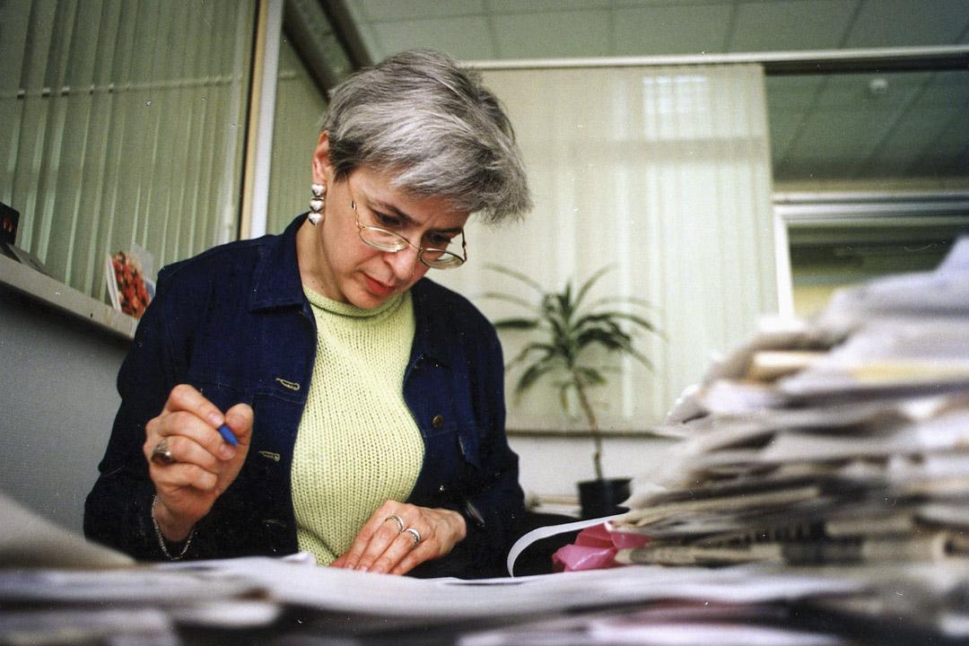 俄羅斯記者Anna Politkovskaya是一位備受尊敬的調查記者,曾撰寫報導車臣戰爭殘酷,於 2006年10月7日被謀殺。