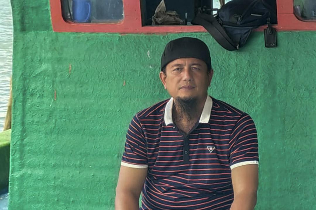 納土納漁民聯盟主席亨德里。